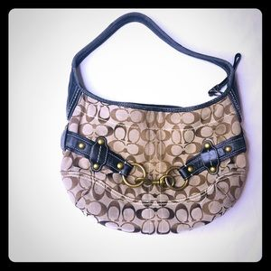 Coach purse hobo handbag